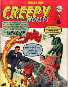 Cover for Creepy Worlds (Alan Class, 1962 series) #130