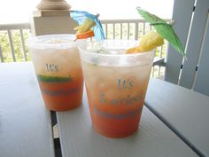 Pineapple New Smyrna Beach Cocktail. mmmm. Put one cup chopped fresh pineapple in a cup of vodka and   marinate for eight hours or overnight.  Mix 1/4 cup fresh orange juice with a splash of cranberry juice and a   jigger of the pineapple flavored vodka and pour over a glass of crushed ice.  Garnish with the marinated pineapple and lime slices.