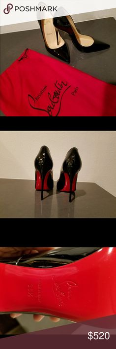 Christian Louboutin So Kate Black Pump These were worn a few once for about 45 minutes. Mint condition. No trades. Christian Louboutin Shoes Heels