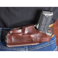 Ruger® 4 – Position LEATHER Holster