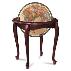 There are thousands of handsome globes available on the market today, but there are none that are quite like the Queen Anne 16-inch Antique ...