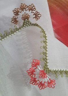 44 Different Needle Lace Models That Are Very Requested- Çok İstek Alan 44 Değişik İğne Oyası Modelleri 44 Different Needle Lace Models, Which Receive Many Requests, # - Crochet Lace Edging, Crochet Borders, Seed Bead Tutorials, Beading Tutorials, Baby Knitting Patterns, Crochet Patterns, Tatting, Sheep Tattoo, Flower Outline