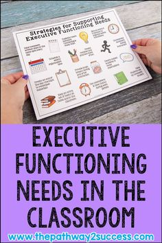 What are executive functioning skills? Executive functioning (EF) skills are the abilities in our brain that help us complete everyday tasks. These skills include planning, organization, time… School Ot, School Social Work, High School Classroom, Special Education Classroom, Physics Classroom, Elementary Counseling, School Counselor, Social Emotional Learning, Social Skills
