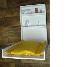 genial: trocador de bebe para quartos pequenos, muito prático!
