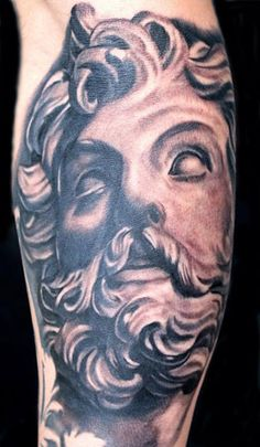 Greek God Tattoo