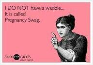 Pregnancy swag