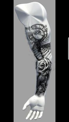 Popular Tattoos and Their Meanings Forarm Tattoos, Forearm Sleeve Tattoos, Bicep Tattoo, Full Sleeve Tattoos, Leg Tattoos, Cool Tattoos, Sleeve Tattoo Men, Diy Tattoo, Full Sleeve Tattoo Design