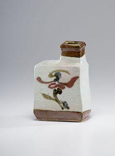 Kanjiro Kawai, Stoneware Bottle Vase - Cowan's Auctions