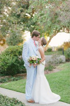 bride and groom captured by We Heart Photography #brideandgroom #weddingphotography #weddingchicks http://www.weddingchicks.com/2014/04/08/sweet-southern-love-wedding/