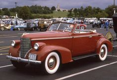 1938 Oldsmobile 8 Convertible Coupe