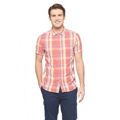 Men's Plaid Short Sleeve Button Down Red - Jeffrey Max. Get superb discounts up to 50% Off at Target with Coupons and Promo Codes.