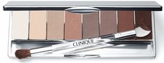 At the heart of the Clinique 16 Shades of Beige Collection is the All About Shadow Naturally Pretty Eyeshadow Palette.