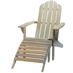 Ontario - Chaise longue grigia in acacia Ontario, Deck Furniture, Furniture Design, Ikea Lounge, Lounge Chairs, Yurt Living, Relax, Outdoor Chairs, Outdoor Decor