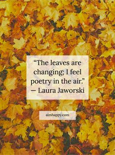 11 Quotes about Autumn That Celebrate Its Poetry