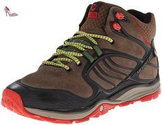 MERRELL - VERTERRA MID WATERPROOF - merrell stone lime, Taille:46.5 - Chaussures merrell (*Partner-Link)