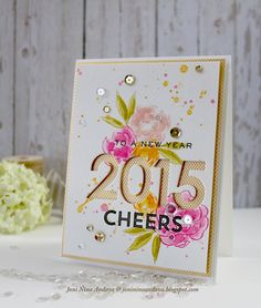 stamp away with me cheers to a new year chrismas cards diy holiday cards