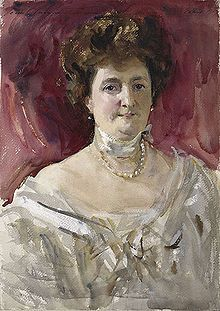 Consuelo Yznaga, Duchess of Manchester, painted by Sargent. He couldn't do much with her, could he?