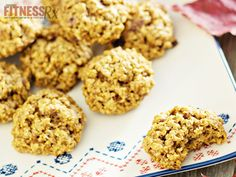 "{   PUMPKIN OATMEAL BREAKFAST COOKIES ADD VARIETY TO YOUR BREAKFAST   }   #FitnessRxForWomenMagazine ..... ""PUMPKIN OATMEAL COOKIES are perfect for BREAKFAST (or Anytime!) Get the RECIPE"" --> http://www.fitnessrxwomen.com/nutrition/recipes/allis-slim-pickins/pumpkin-oatmeal-breakfast-cookies/"