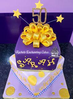 Family Tree 50th Birthday Cake by Rachels Enchanting Cakes www
