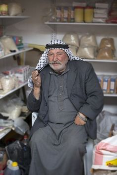 Hebron shopkeeper , Palestine