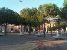 Plaza Juan XXIII en Cartagena, Murcia