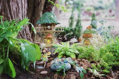 Styling tips and tricks for creating a magical fairy garden - Think.Make.Share.
