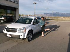 Lynette's new 2005 CHEVROLET EQUINOX! Congratulations and best wishes from Grand West Kia and THERON BEMIS.