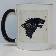 channeling my inner gothic princess - Winter is Coming Stark Ceramic Mug   Brand Me Geek