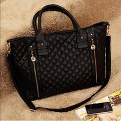 All black shoulder bag All black shoulder bag Bags Shoulder Bags