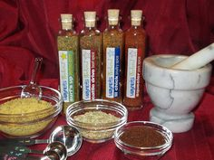 home made grilling spices and rubs. Great for Christmas gifts
