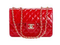 chanel red handbag - Google Search