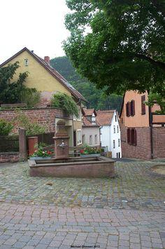 Klosterbrunnen in Lambrecht