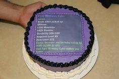 Geek cake!