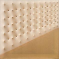 Enrico Castellani . superficie opaline, 1976