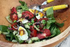 Salade Nicoise | Community Post: 14 Summery Salads That Prove Eating Healthy Can Be Delicious