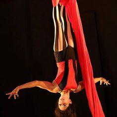 samaracircus:    La Bruja from Saturday night. I love performing this routine.  Photo by Ian Michael Spooner.   #silks #aerialsilks #aerialfabric #aerialistsofig