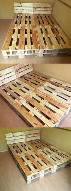 Awesome Pallet Bed Projects
