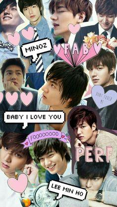 wallpaper Lee Min Ho♡