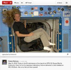 Las 8 Primeras Publicaciones de #Astronautas en las #RedesSociales desde el Espacio - #SocialMedia