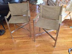 Thrifted Thursday // Milo Baughman-style Chrome Chairs
