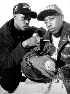 Gang Starr, hip-hop duo that consisted of the MC Guru (Keith Elam) (R.I.P.) and the DJ/producer DJ Premier (Christopher Martin). During their career, Gang Starr helped pioneer the New York hardcore hip-hop sound, despite Guru hailing from Boston and Premier from Houston. Their hits include Step in the Arena, Take it Personal, DWYCK (featuring Nice & Smooth), Mass Appeal and You Know My Steez.