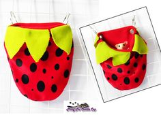 Sugar Glider and Rat Strawberry Cage pouch by PinoyPetCuddleCup on Etsy https://www.etsy.com/listing/465177971/sugar-glider-and-rat-strawberry-cage