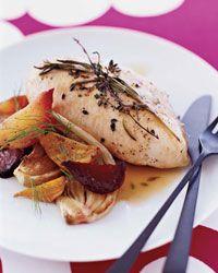 Roasted Beet and Fennel Salad