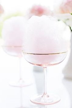 Cotton Candy Champagne Cocktail! xo