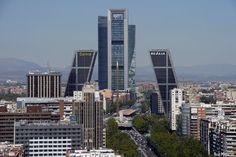 San Francisco Skyline, Madrid, Travel, Viajes, Trips, Traveling, Tourism, Vacations