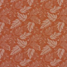 The K7816 SPICE/LEAF upholstery fabric by KOVI Fabrics features Contemporary, Foliage, Small Scale pattern and Coral or Orange or Persimmon, White or Off-White as its colors. It is a Crypton, Damask or Jacquard type of upholstery fabric and it is made of 59% polyester, 41% Olefin material. It is rated Exceeds 100,000 Double Rubs (Heavy Duty) which makes this upholstery fabric ideal for residential, commercial and hospitality upholstery projects.