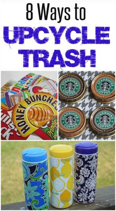 DIY Ideas | Before you trash all those cardboard boxes and glass bottles, check out these creative ways to turn your trash into treasure! | #Ad