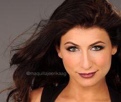 Labios púrpura y sombra plateada para un look impactante Makeup By: Erika Arboleda  Ig: @maquillajeerikaag