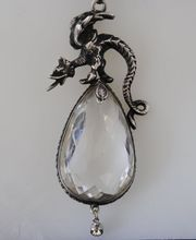 Finest Huge, Vintage PERUZZI Rock Crystal from Dolce Antiques & Jewelry Gallery on Ruby Lane