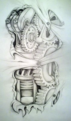 Biomechanical tatt idea by mirandaamber on deviantart. find this pin and more on biomechanical elbow tattoo drawings Elbow Tattoos, Skull Tattoos, Body Art Tattoos, New Tattoos, Tattoos For Guys, Sleeve Tattoos, Tattoo Design Drawings, Tattoo Sketches, Tattoo Designs Men